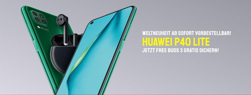 Das neue Huawei P40 Lite
