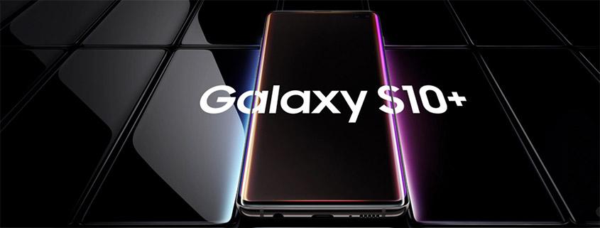 Samsung Galaxy S10+ inkl. 6 GB Vodafone LTE Flat für 21,99 €/mtl.