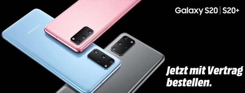 Die neue Samsung Galaxy S20 Serie bei Media Markt