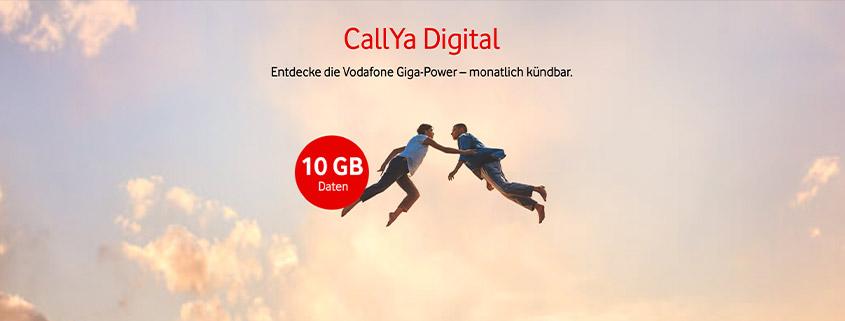 CallYa Digital jetzt mit 10 GB für 20 € im Monat