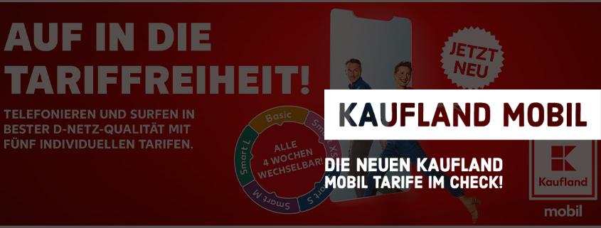 Kaufland Mobil: Günstige Prepaid-Tarife im D1-Netz der Telekom