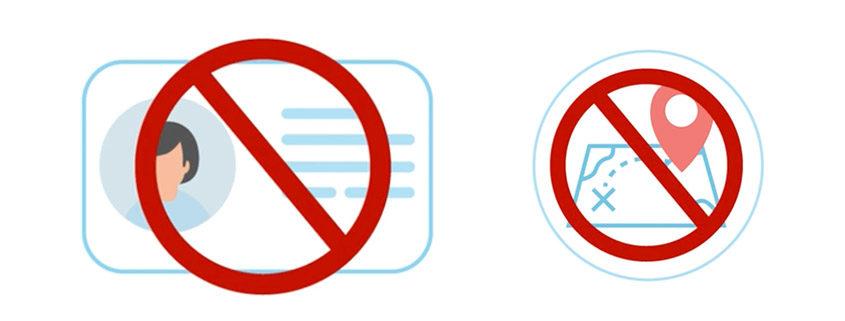 Keine Speicherung personenbezogener Daten