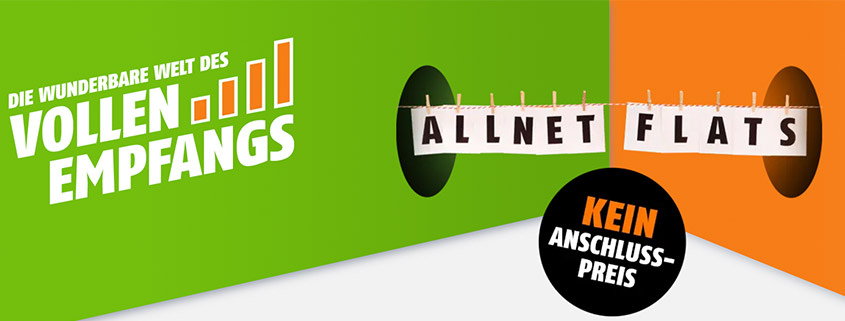 klarmobil Allnet-Flat im Telekom-Netz inkl. LTE ab 9,99 €/mtl.