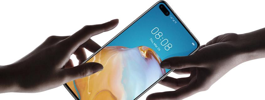 Huawei P40 + Zugaben & o2 Free M für 24,99 €im Monat