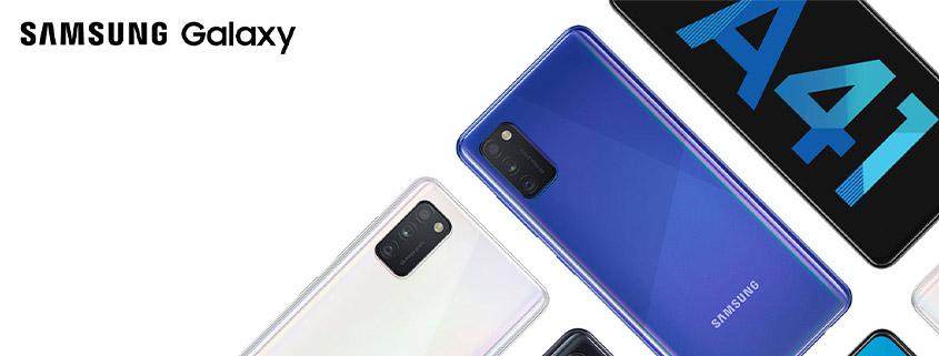Samsung Galaxy A41 + Powerbank und 3 GB LTE Tarif für 14,99 €im Monat
