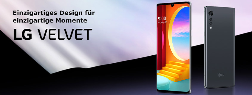 LG Velvet 4G + LTE Allnet-Flat schon ab 21,99 € im Monat