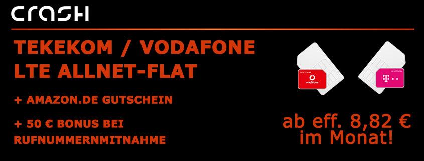 7 Top D-Netz Tarife mit bis zu 65 €Amazon Gutschein