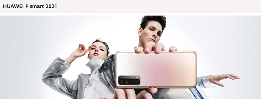 Huawei P Smart (2021) + Bonus & 5 GB Vodafone LTE Flat nur 12,99 €