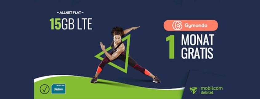 Top Deal - 15 GB LTE Allnet Flat + gratis App für nur 14,99 € im Monat