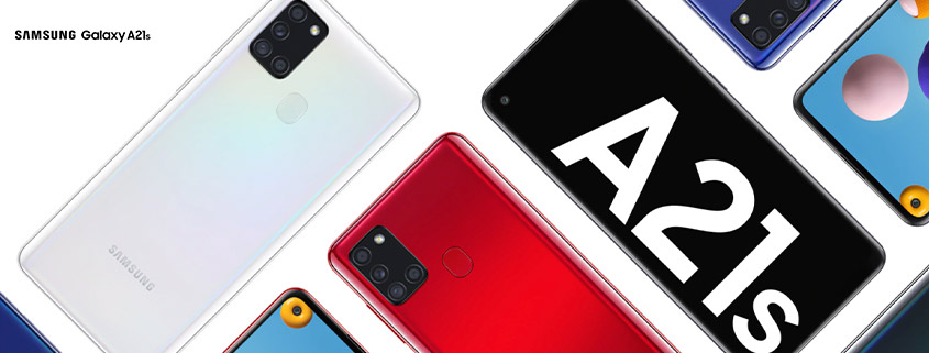 Samsung Galaxy A21s + 5 GB LTE Allnet-Flat für 9,99 € im Monat