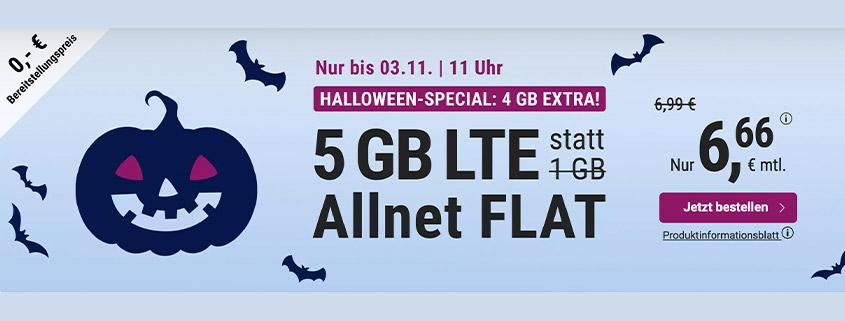 simply bietet 5 GB LTE Flat für 6,66 € pro Monat
