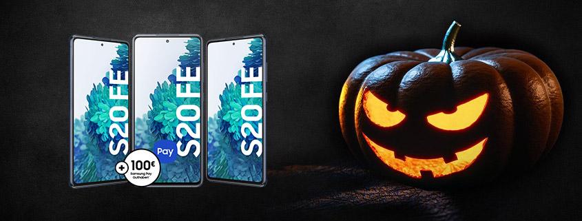 Samsung Galaxy S20 FE + 20 GB LTE Allnet-Flat für nur 23,99 €im Monat