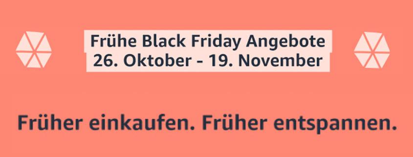 Der Amazon frühe Black Friday - Bis zum 19.11. Schnäppchen sichern!