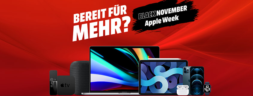 Media Markt Black November Apple Week