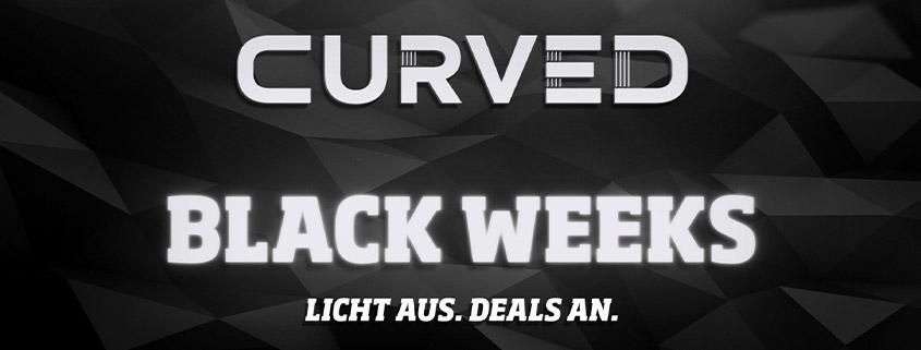 Die CURVED Black Weeks - Die Angebote im Überblick