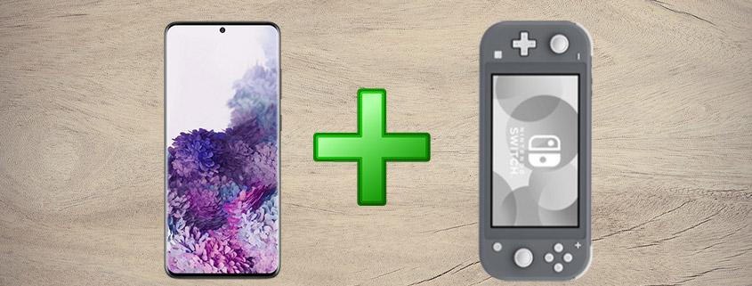 Samsung Galaxy S20+ inkl. Nintendo Switch Lite & 18 GB Telekom Tarif nur 36,99 €/mtl