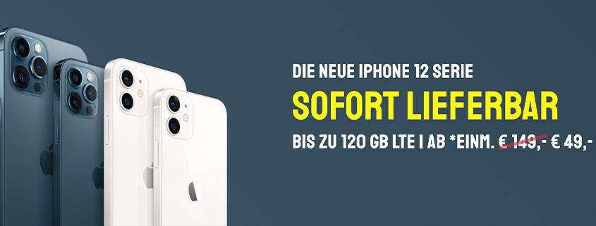Die iPhone Deals bei sparhandy - Die Angebote im Überblick