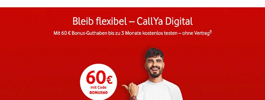 CallYa Digital - Jetzt 3 Monate gratis testen