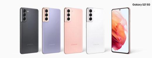 Samsung Galaxy S21 5G mit bis zu 60 GB LTE Tarif für 39,99 € im Monat
