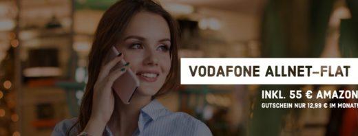 Top Deal - 15 GB LTE Allnet Flat + 55 € Amazon Gutschein für nur 12,99 €/mtl.