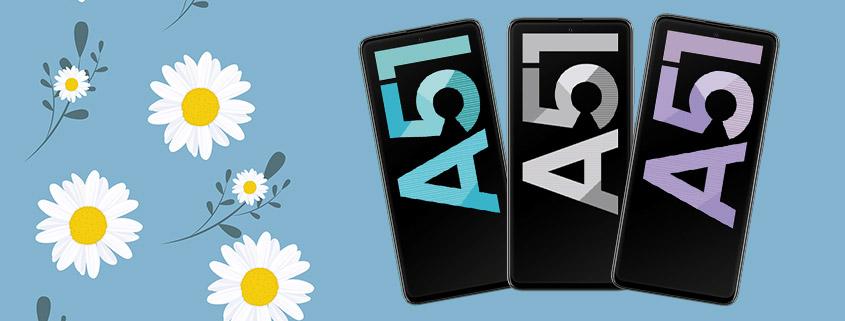 Samsung Galaxy A51 + 5 GB LTE Allnet-Flat