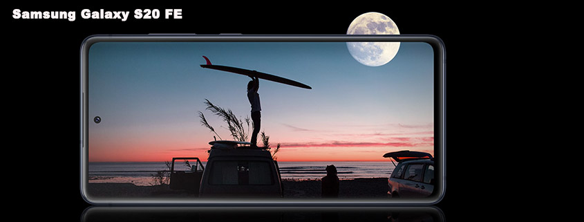 SAMSUNG Galaxy S20 FE + Vodafone Tarif nur 14,99 €/mtl.