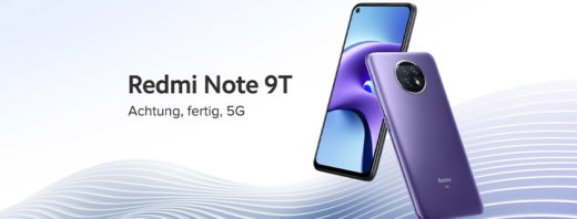 Xiaomi Redmi Note 9T 5G + 5 GB LTE Allnet-Flat für 12,99 €/mtl.