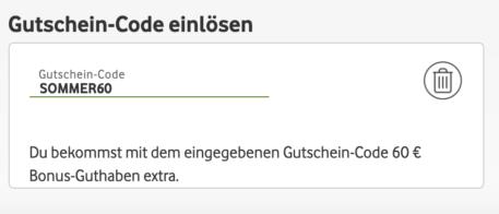Vodafone Call Ya Gutscheincode