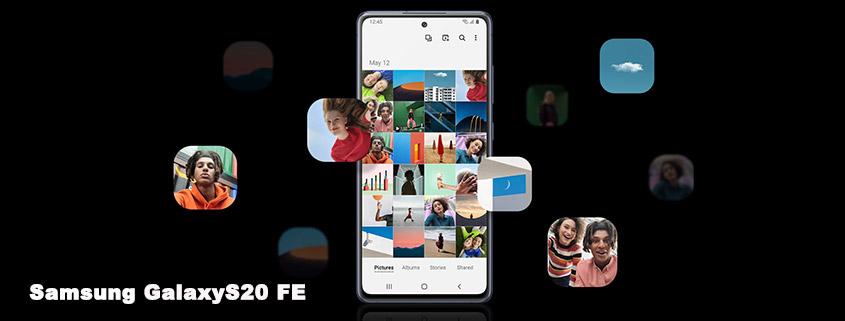Samsung Galaxy S20 FE inkl. 12 GB o2 LTE Allnet-Flat für 19,99 €