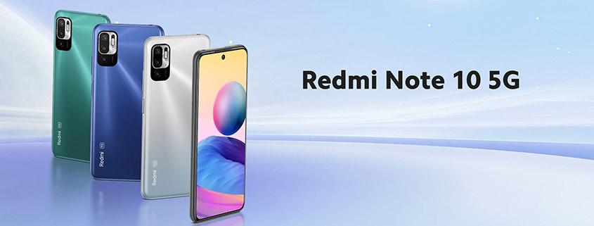 Xiaomi Redmi Note 10 5G + Vodafone LTE Allnet-Flat für 12,99 € im Monat