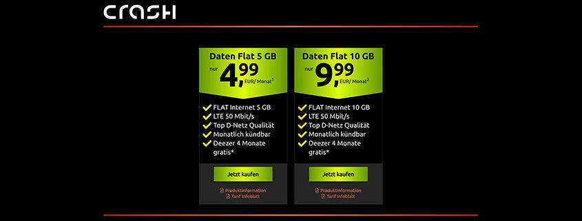 Vodafone Daten Flat mit 5 GB nur 4,99 € im Monat