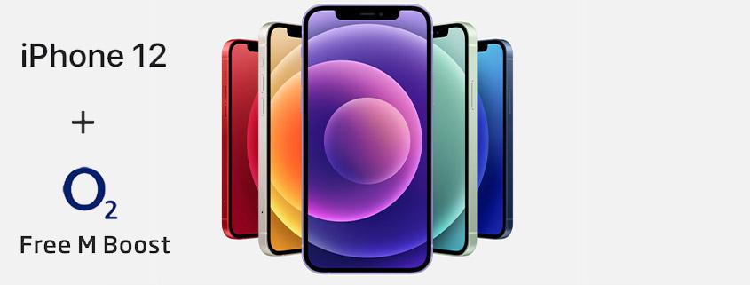 Apple iPhone 12 inkl. 40 GB LTE Allnet-Flat für 41,99 € im Monat