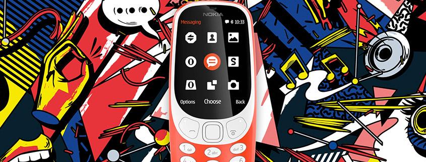 Nokia 3310 inkl. 6 GB Vodafone LTE Allnet-Flat für nur 7,99 € im Monat